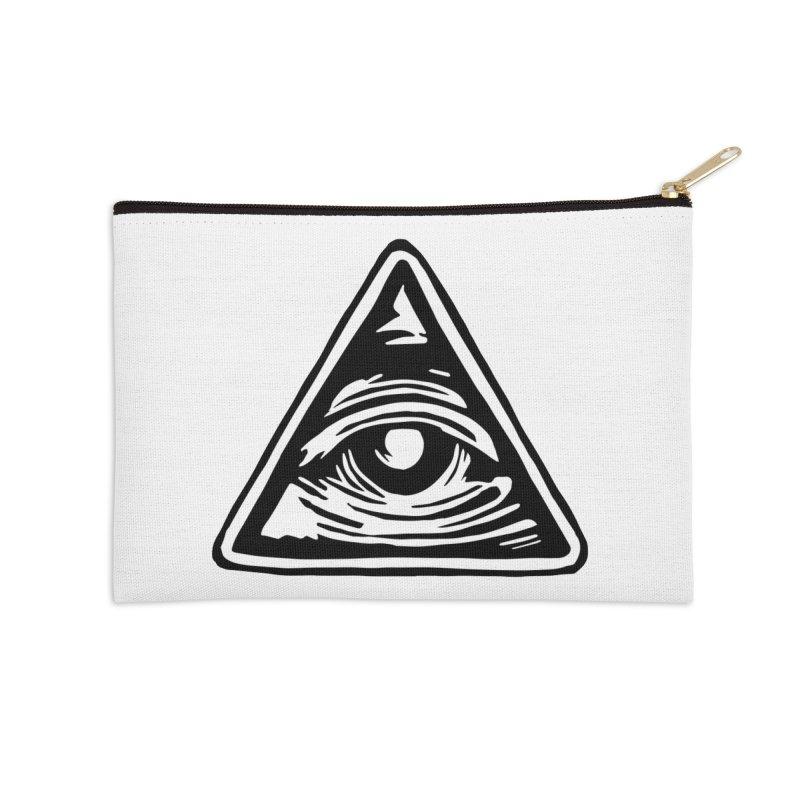 Mystic Eye Accessories Zip Pouch by BareBonesStudio's Artist Shop