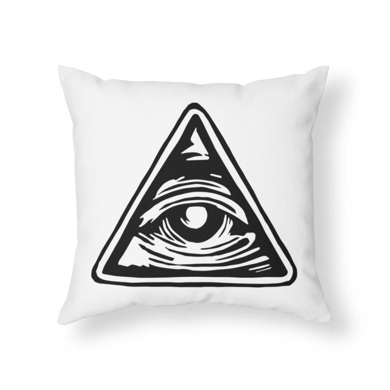 Mystic Eye Home Throw Pillow by BareBonesStudio's Artist Shop