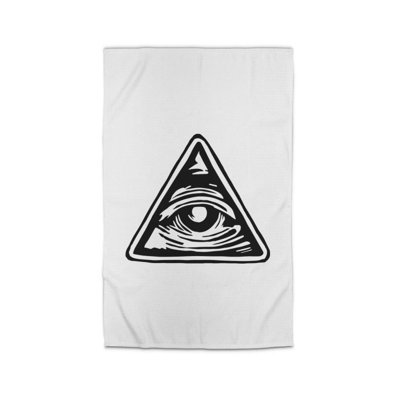 Mystic Eye Home Rug by BareBonesStudio's Artist Shop