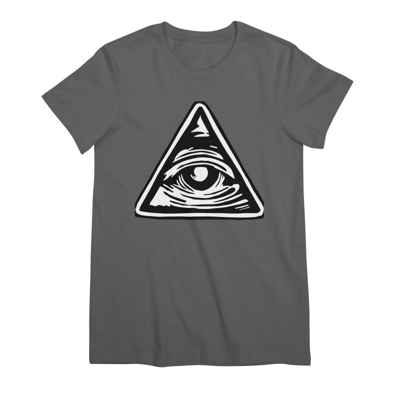 Mystic Eye Women's T-Shirt by BareBonesStudio's Artist Shop