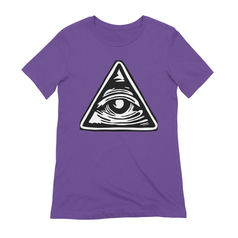 Mystic Eye Women's T-Shirt by BareBonesStudio's Artist Shop