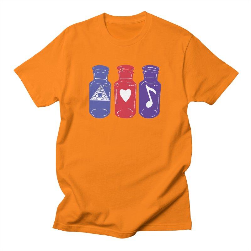 Wisdom, Love and Harmony Men's T-Shirt by BareBonesStudio's Artist Shop