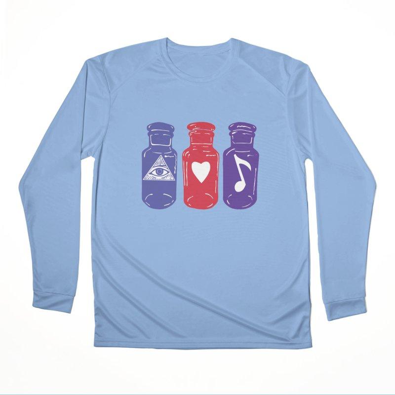 Wisdom, Love and Harmony Men's Longsleeve T-Shirt by BareBonesStudio's Artist Shop