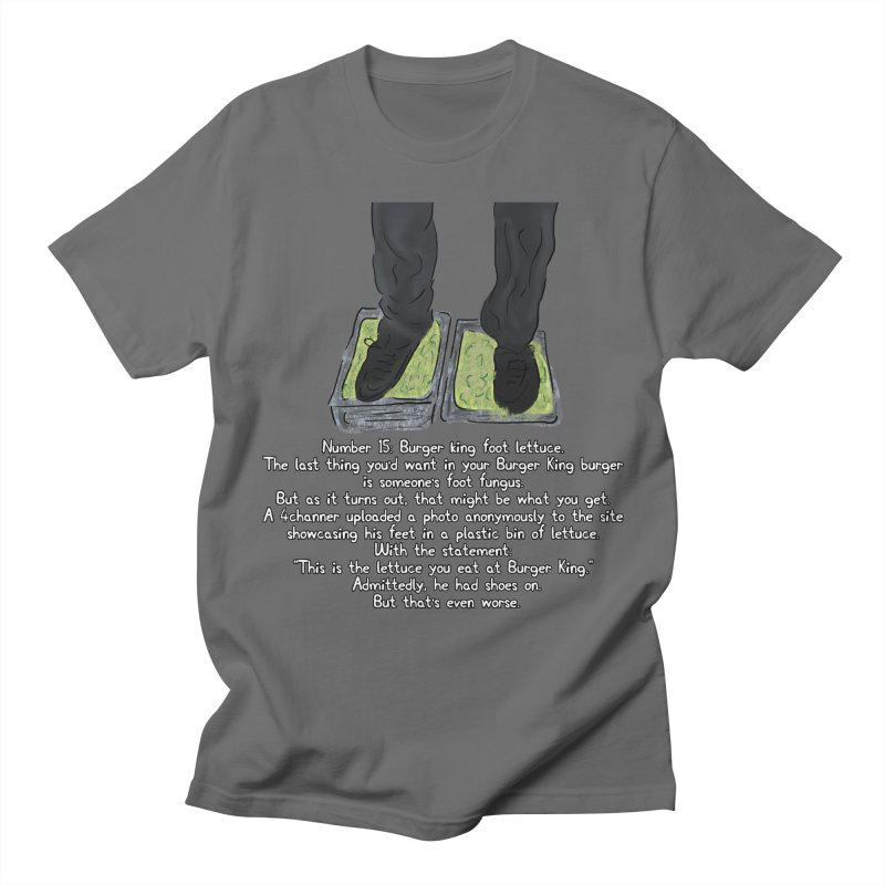 Burger King Foot Lettuce Meme Mens T Shirt By Barnyardys Artist Shop
