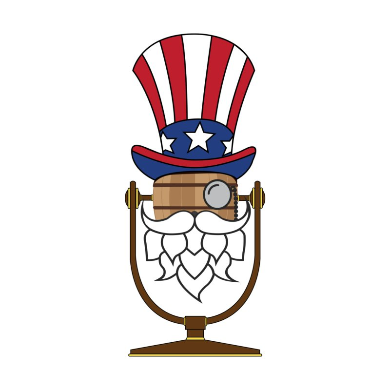 Fourth of July Hoppy Men's T-Shirt by Barrel Chat Podcast Merch Shop