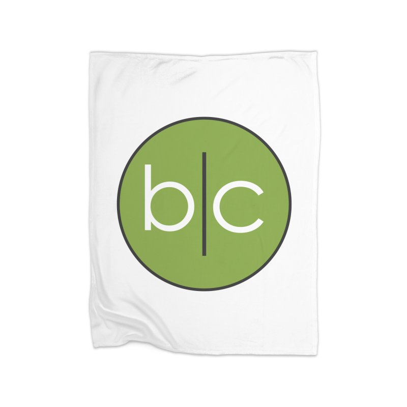 B|C Home Fleece Blanket Blanket by Barrel Chat Podcast Merch Shop