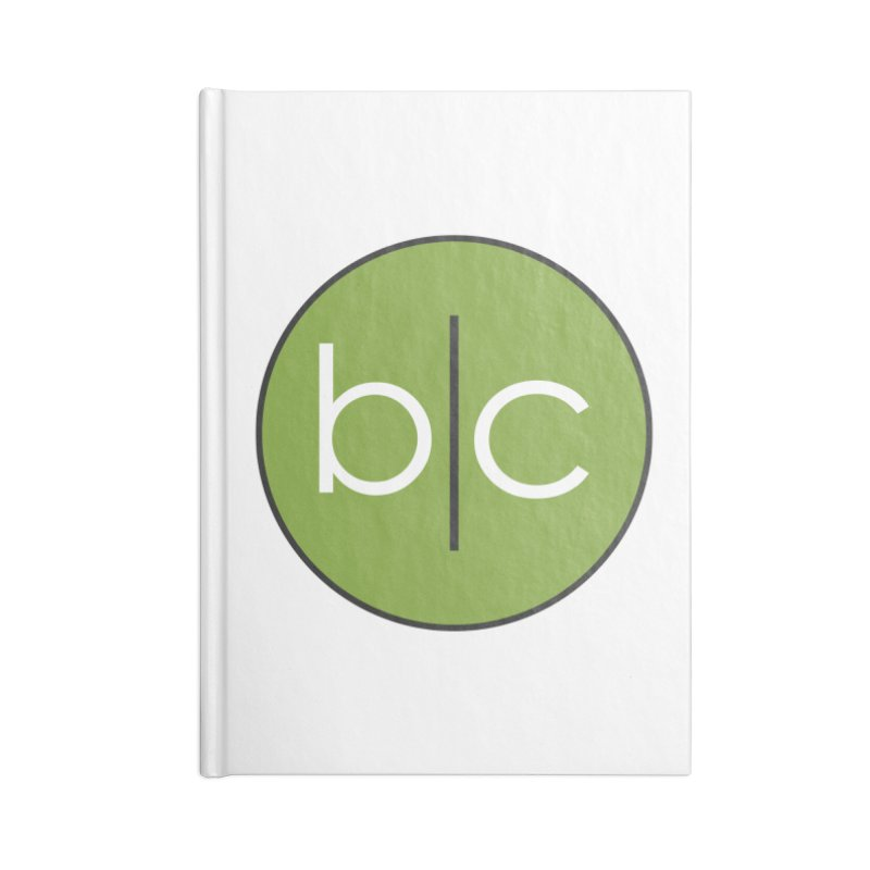 B|C Accessories Blank Journal Notebook by Barrel Chat Podcast Merch Shop
