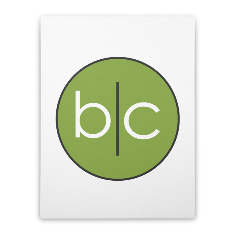 B|C Home Stretched Canvas by Barrel Chat Podcast Merch Shop