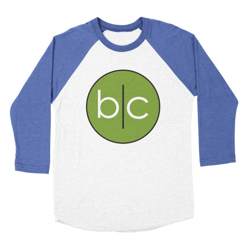 B|C Women's Baseball Triblend Longsleeve T-Shirt by Barrel Chat Podcast Merch Shop