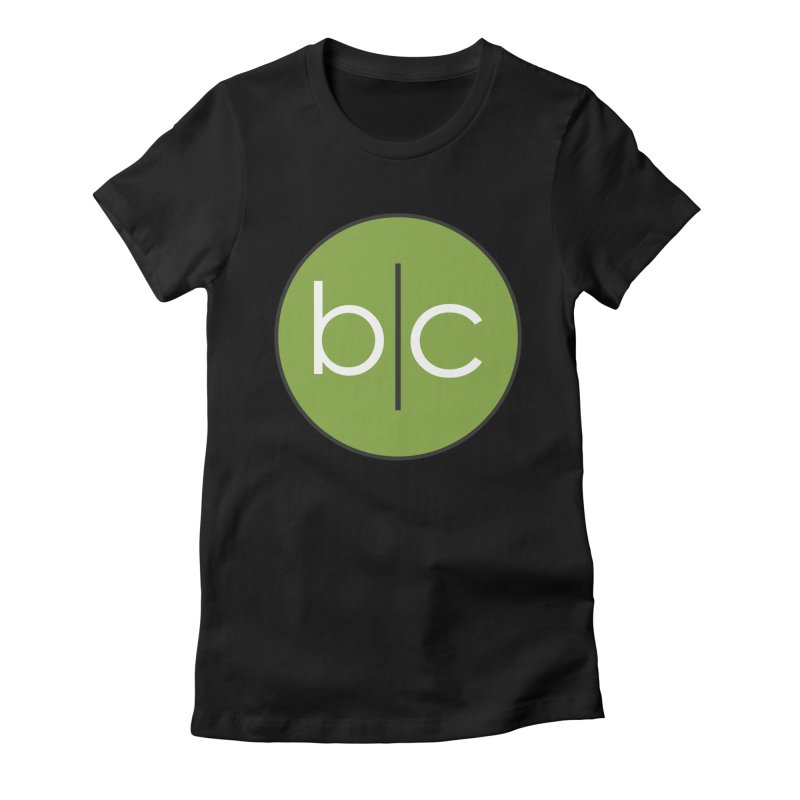 B|C Women's Fitted T-Shirt by Barrel Chat Podcast Merch Shop