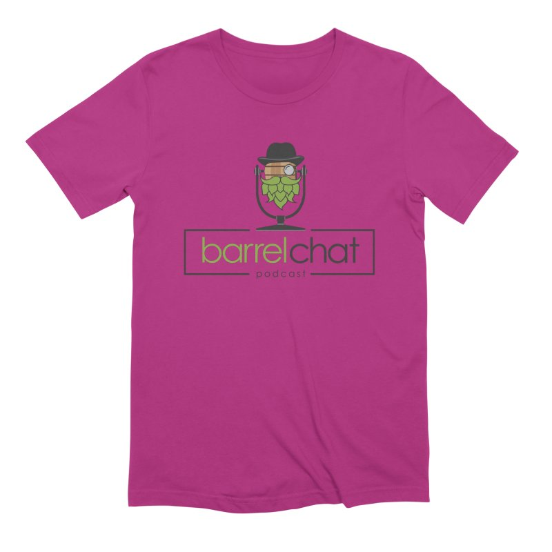 Barrel Chat Podcast Men's Extra Soft T-Shirt by Barrel Chat Podcast Merch Shop