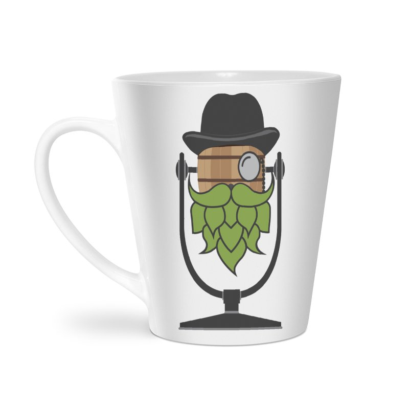 Hoppy Accessories Latte Mug by Barrel Chat Podcast Merch Shop