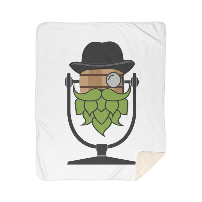 Hoppy Home Sherpa Blanket Blanket by Barrel Chat Podcast Merch Shop