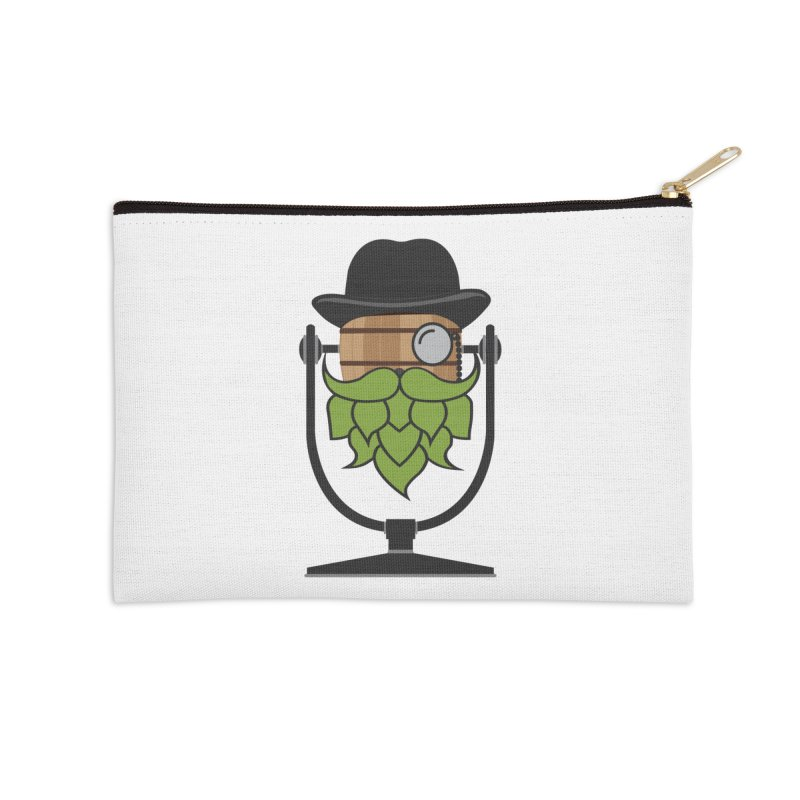 Hoppy Accessories Zip Pouch by Barrel Chat Podcast Merch Shop