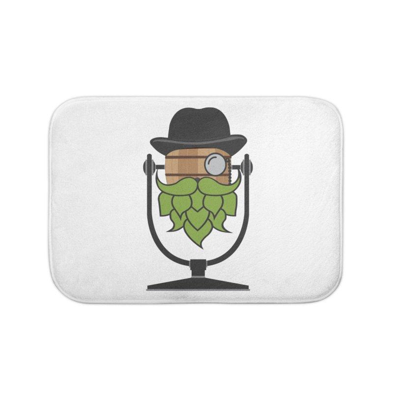 Hoppy Home Bath Mat by Barrel Chat Podcast Merch Shop