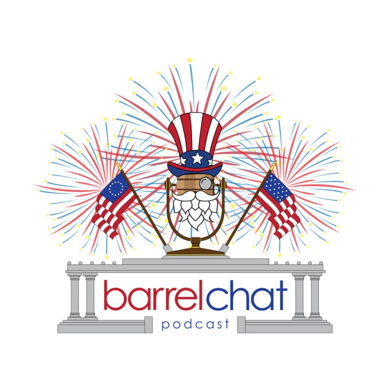 Fourth of July Barrel Chat Podcast Accessories Mug by Barrel Chat Podcast Merch Shop