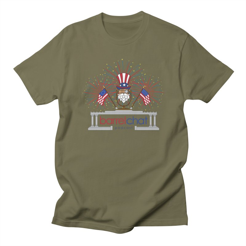 Fourth of July Barrel Chat Podcast Women's Regular Unisex T-Shirt by Barrel Chat Podcast Merch Shop