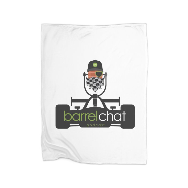 Race Day Barrel Chat Podcast Home Blanket by Barrel Chat Podcast Merch Shop