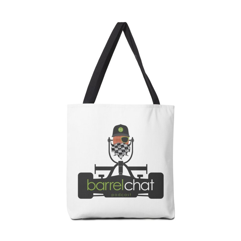 Race Day Barrel Chat Podcast Accessories Tote Bag Bag by Barrel Chat Podcast Merch Shop