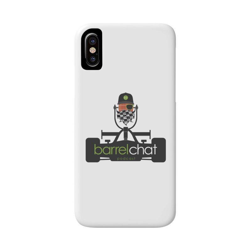 Race Day Barrel Chat Podcast Accessories Phone Case by Barrel Chat Podcast Merch Shop