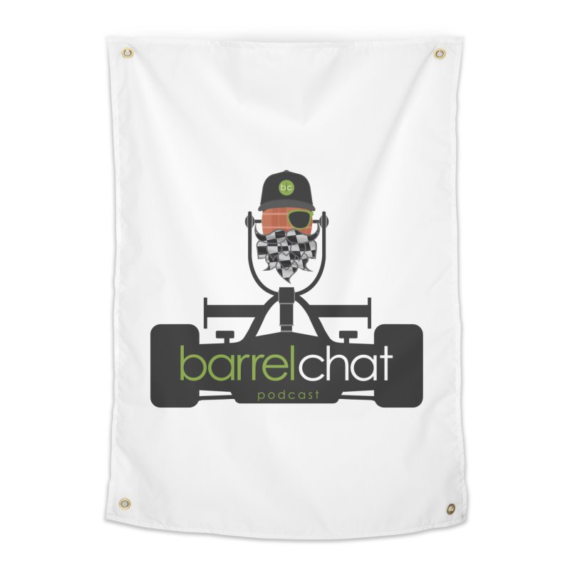Race Day Barrel Chat Podcast Home Tapestry by Barrel Chat Podcast Merch Shop