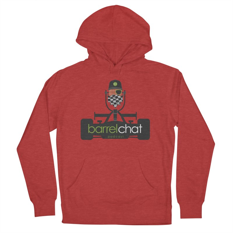Race Day Barrel Chat Podcast Women's French Terry Pullover Hoody by Barrel Chat Podcast Merch Shop