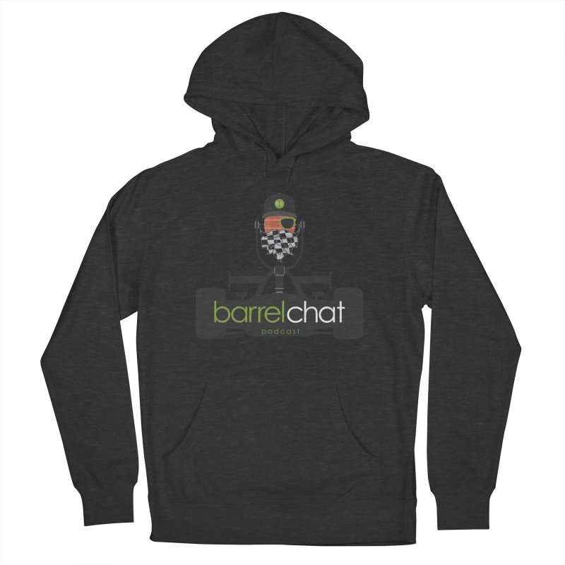 Race Day Barrel Chat Podcast Men's French Terry Pullover Hoody by Barrel Chat Podcast Merch Shop