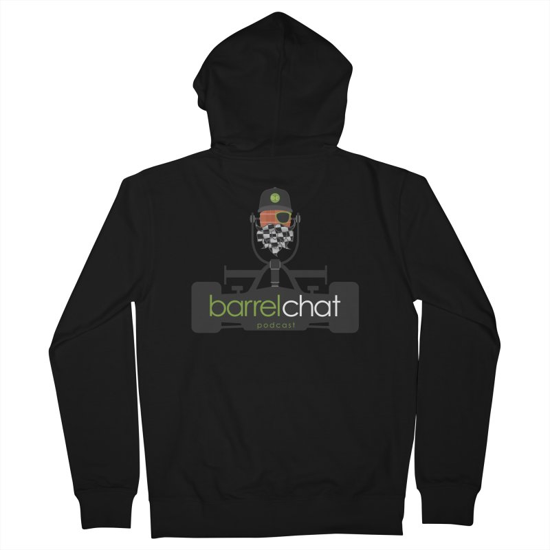 Race Day Barrel Chat Podcast Women's French Terry Zip-Up Hoody by Barrel Chat Podcast Merch Shop