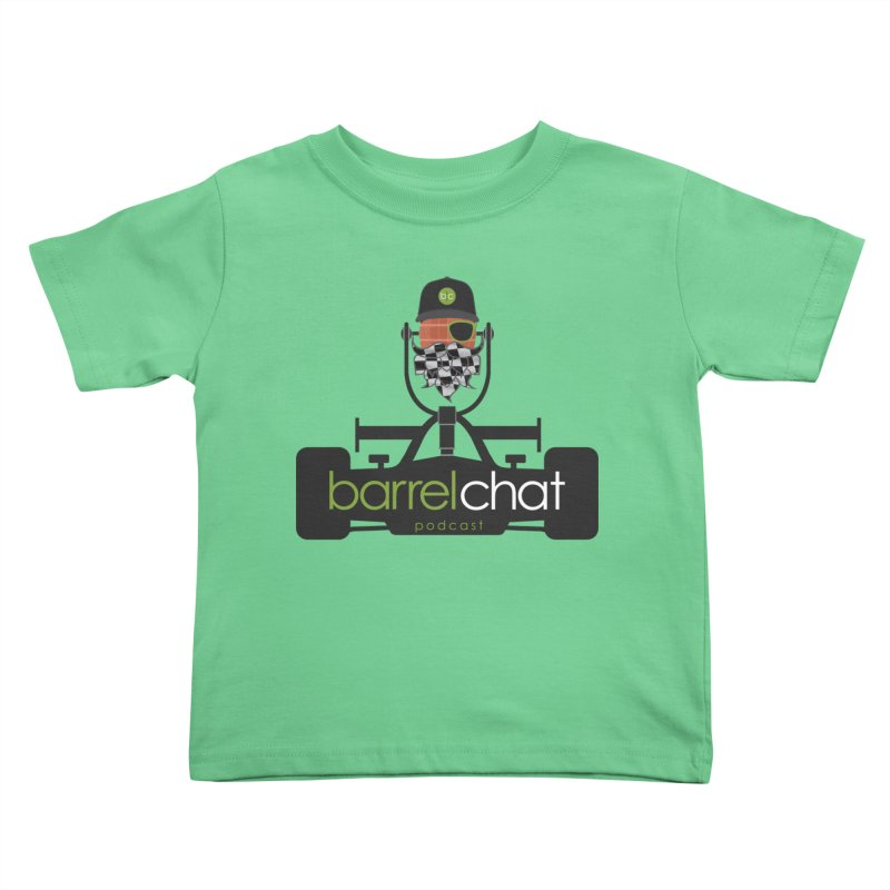 Race Day Barrel Chat Podcast Kids Toddler T-Shirt by Barrel Chat Podcast Merch Shop