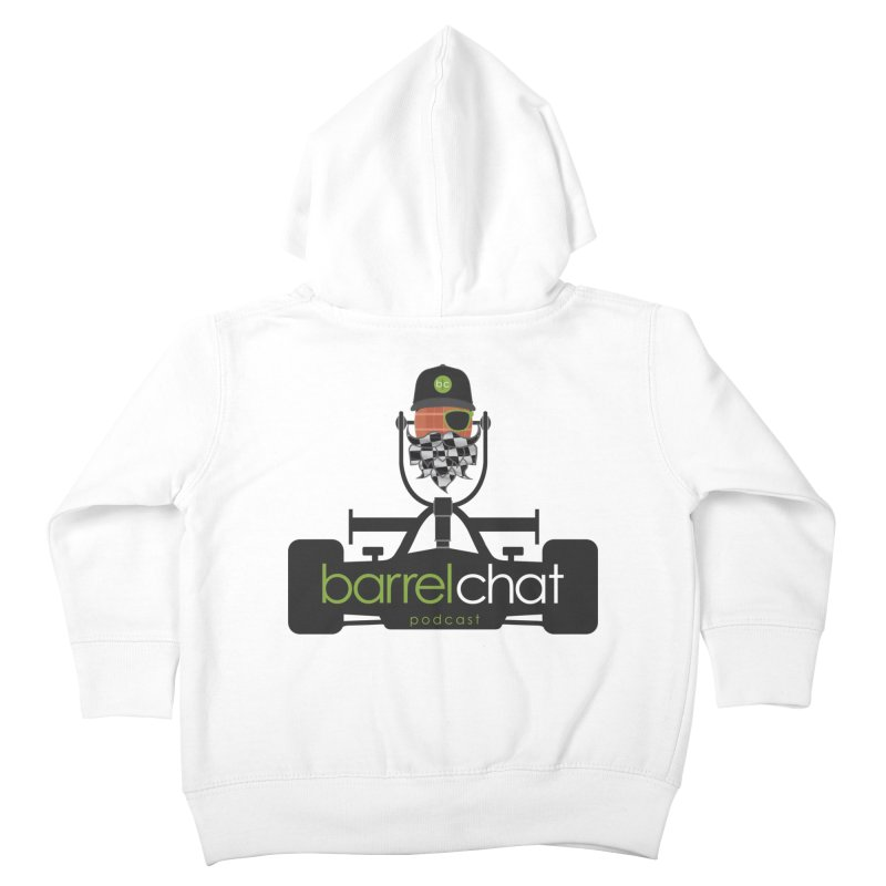 Race Day Barrel Chat Podcast Kids Toddler Zip-Up Hoody by Barrel Chat Podcast Merch Shop