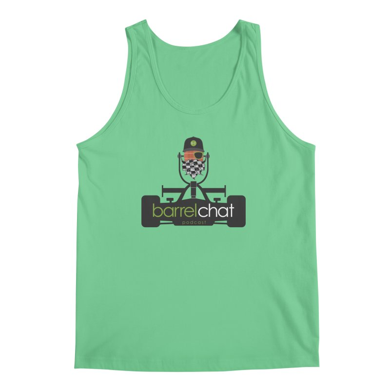 Race Day Barrel Chat Podcast Men's Regular Tank by Barrel Chat Podcast Merch Shop