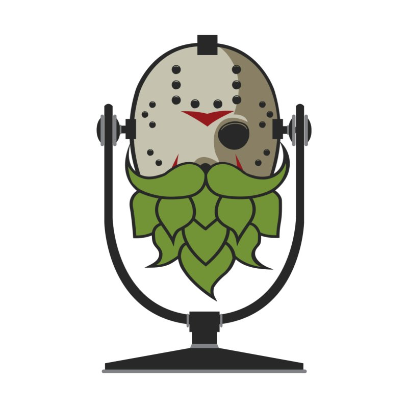 Halloween Hoppy - Jason Voorhees Men's T-Shirt by Barrel Chat Podcast Merch Shop