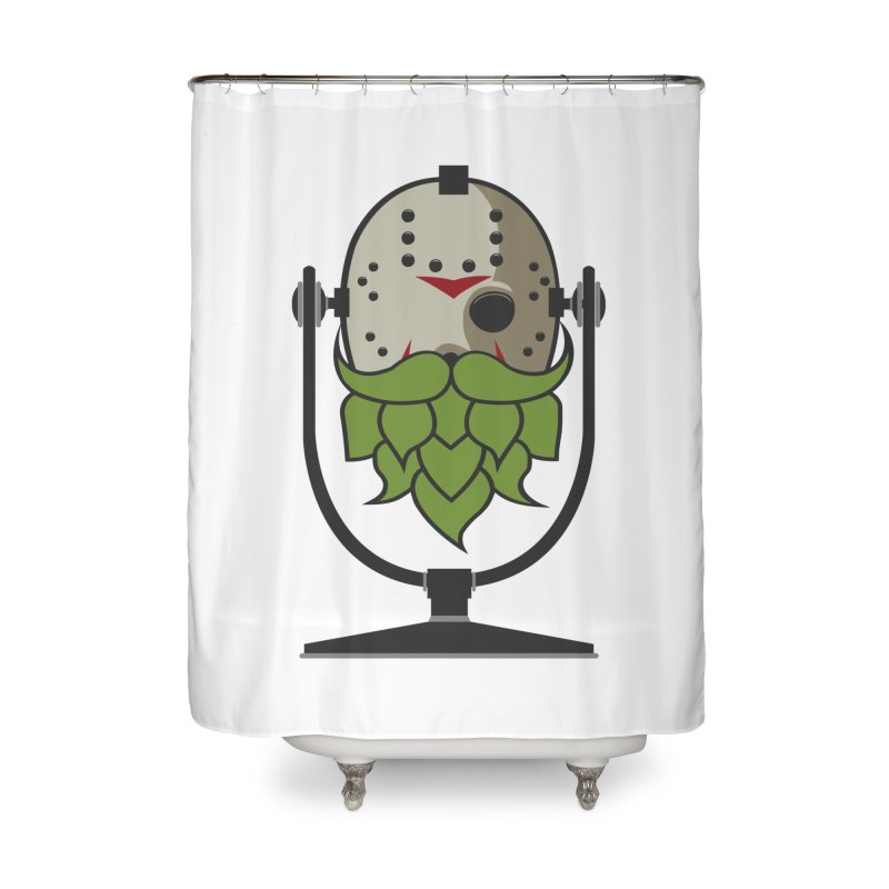 Halloween Hoppy - Jason Voorhees Home Shower Curtain by Barrel Chat Podcast Merch Shop