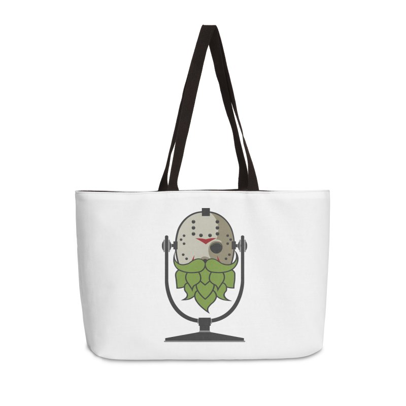 Halloween Hoppy - Jason Voorhees Accessories Weekender Bag Bag by Barrel Chat Podcast Merch Shop
