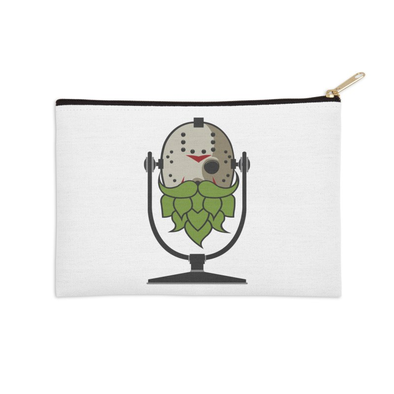 Halloween Hoppy - Jason Voorhees Accessories Zip Pouch by Barrel Chat Podcast Merch Shop