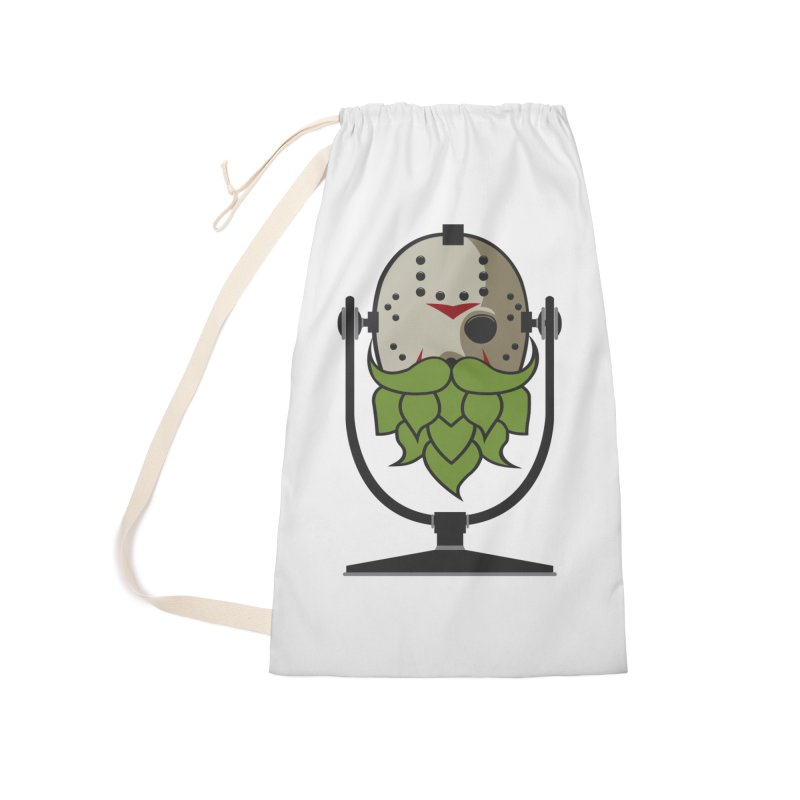 Halloween Hoppy - Jason Voorhees Accessories Laundry Bag Bag by Barrel Chat Podcast Merch Shop