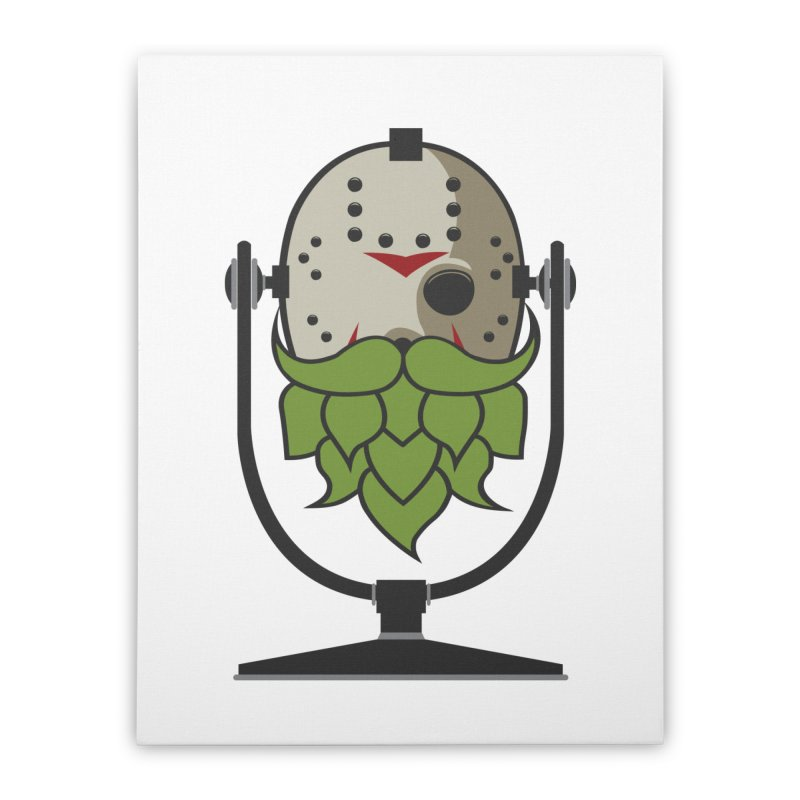 Halloween Hoppy - Jason Voorhees Home Stretched Canvas by Barrel Chat Podcast Merch Shop