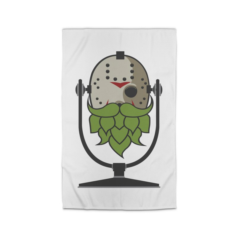 Halloween Hoppy - Jason Voorhees Home Rug by Barrel Chat Podcast Merch Shop