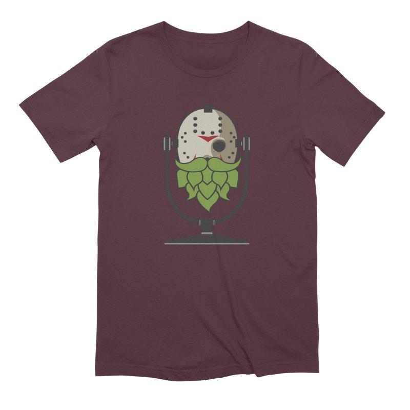 Halloween Hoppy - Jason Voorhees Men's Extra Soft T-Shirt by Barrel Chat Podcast Merch Shop