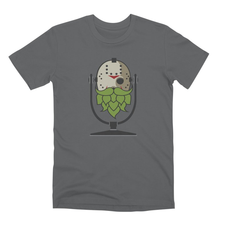 Halloween Hoppy - Jason Voorhees Men's Premium T-Shirt by Barrel Chat Podcast Merch Shop