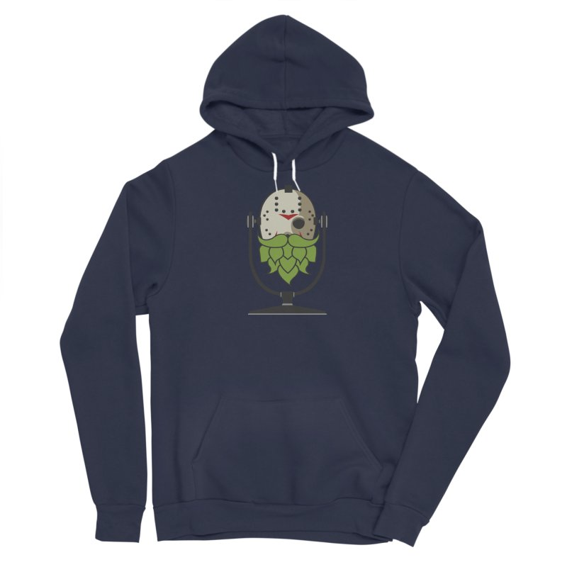 Halloween Hoppy - Jason Voorhees Men's Sponge Fleece Pullover Hoody by Barrel Chat Podcast Merch Shop