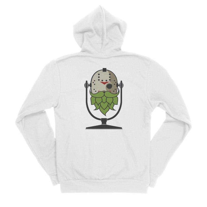 Halloween Hoppy - Jason Voorhees Women's Sponge Fleece Zip-Up Hoody by Barrel Chat Podcast Merch Shop