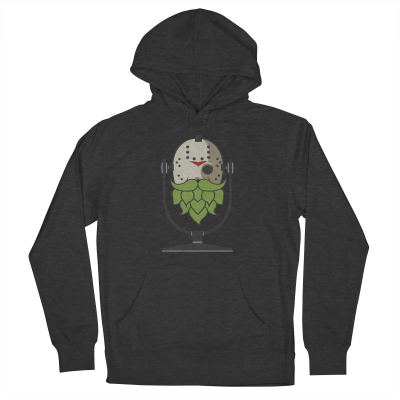 Halloween Hoppy - Jason Voorhees Men's French Terry Pullover Hoody by Barrel Chat Podcast Merch Shop