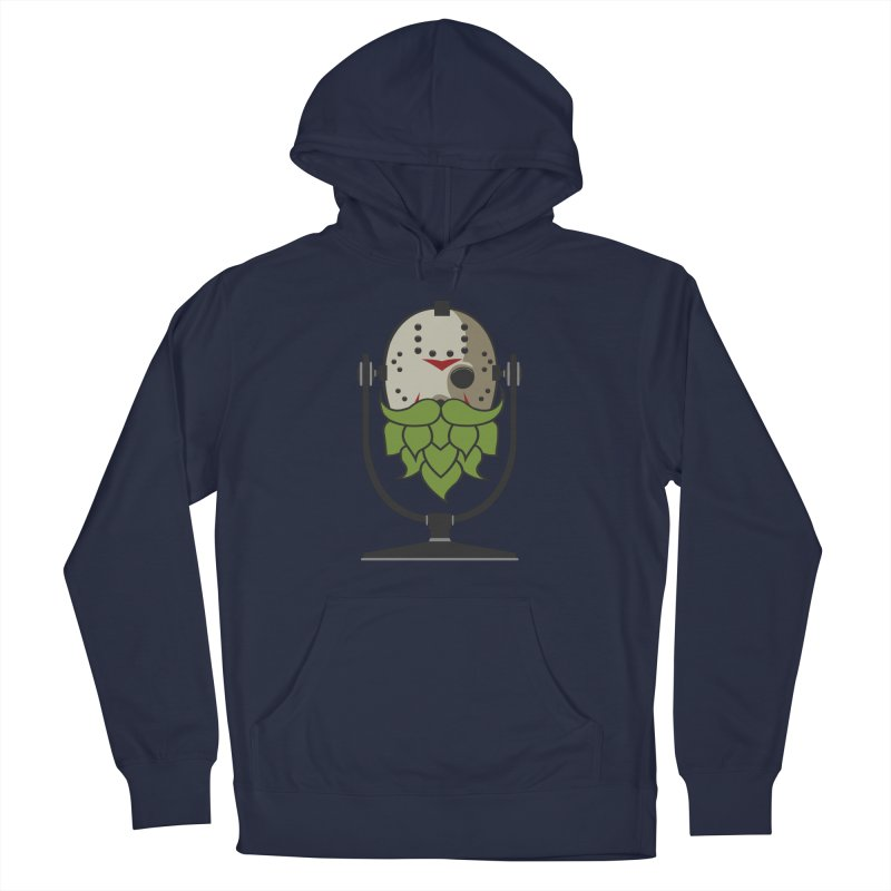 Halloween Hoppy - Jason Voorhees Men's Pullover Hoody by Barrel Chat Podcast Merch Shop