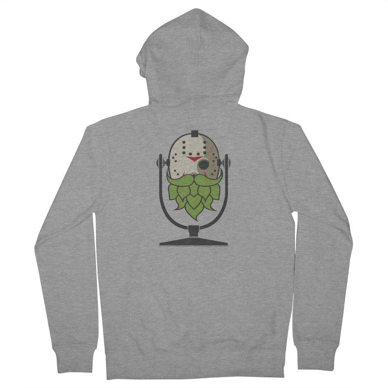 Halloween Hoppy - Jason Voorhees Women's French Terry Zip-Up Hoody by Barrel Chat Podcast Merch Shop
