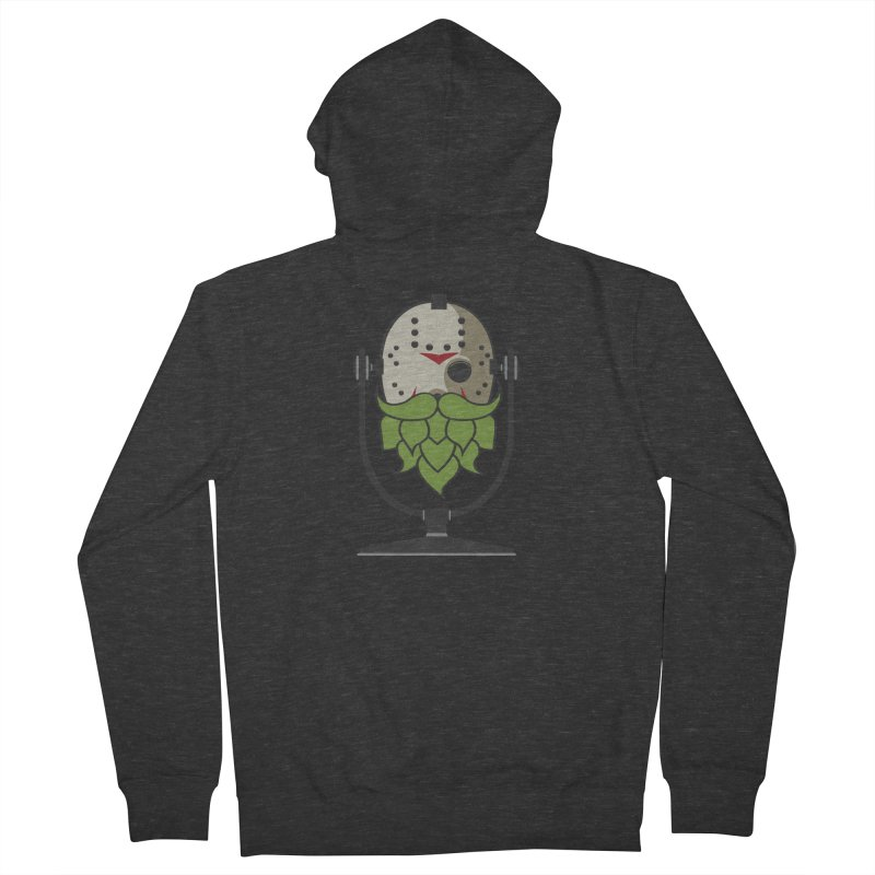 Halloween Hoppy - Jason Voorhees Men's Zip-Up Hoody by Barrel Chat Podcast Merch Shop