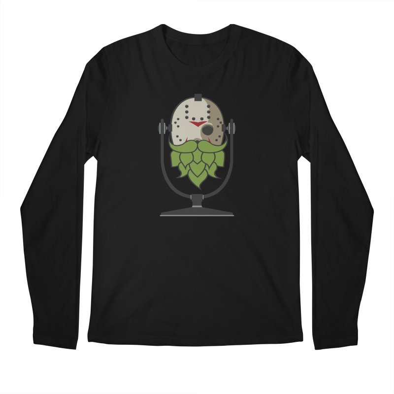 Halloween Hoppy - Jason Voorhees Men's Regular Longsleeve T-Shirt by Barrel Chat Podcast Merch Shop