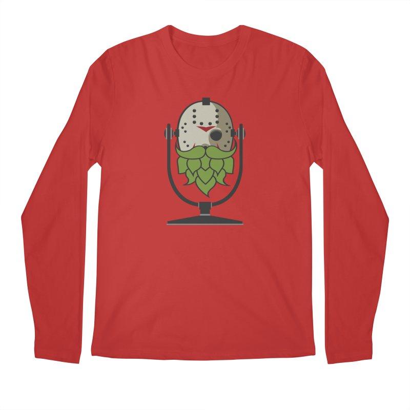 Halloween Hoppy - Jason Voorhees Men's Regular Longsleeve T-Shirt by Barrel Chat Podcast Merch Shop