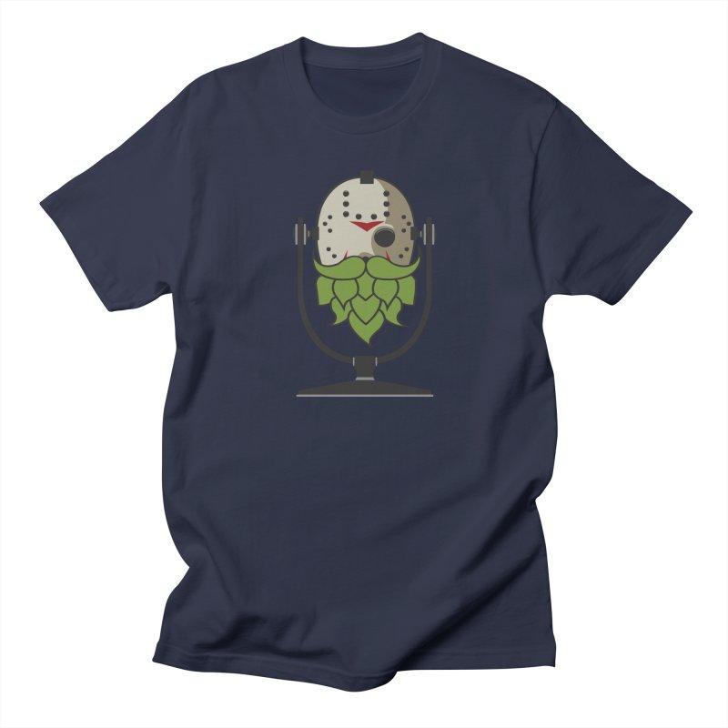 Halloween Hoppy - Jason Voorhees Men's Regular T-Shirt by Barrel Chat Podcast Merch Shop