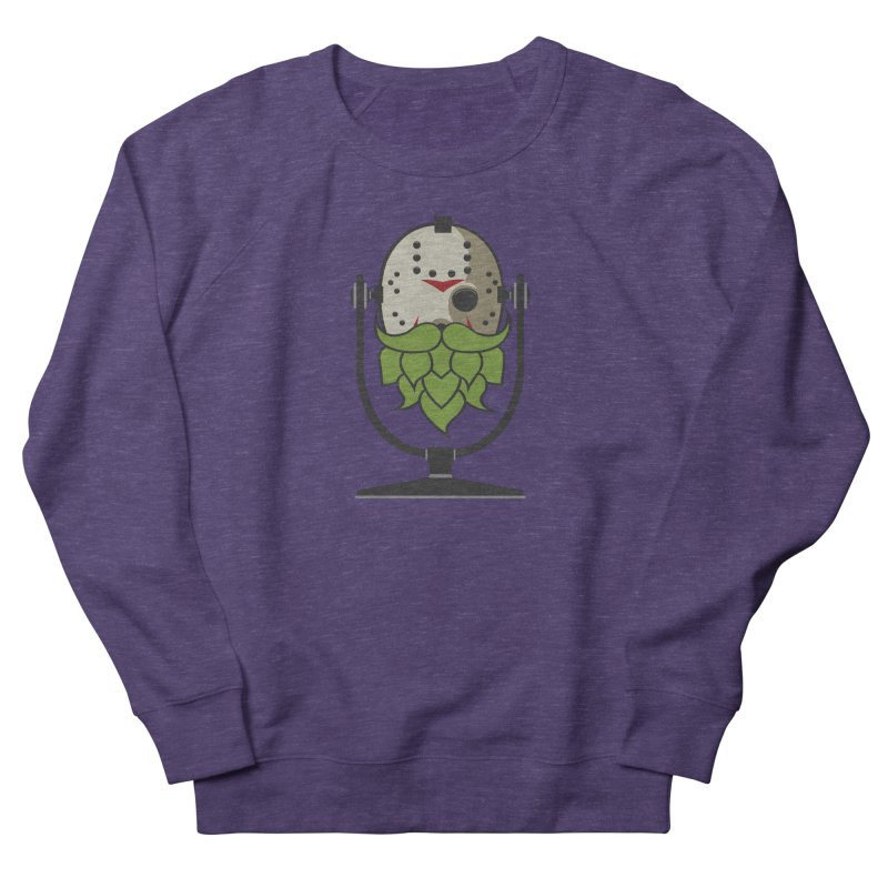 Halloween Hoppy - Jason Voorhees Men's French Terry Sweatshirt by Barrel Chat Podcast Merch Shop